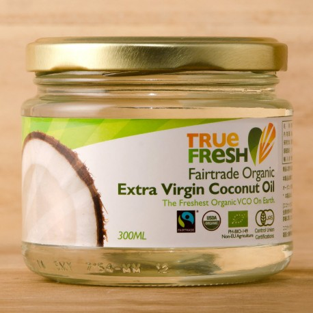 True Fresh 有機冷離心初榨椰子油