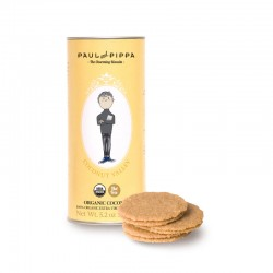 Paul & Pippa Spanish Organic Hand-made Biscuits (Coconut Valley)