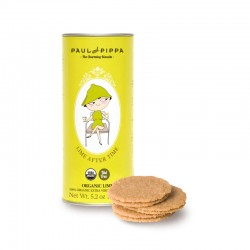 Paul & Pippa Spanish Organic Hand-made Biscuits (Lime after Time)