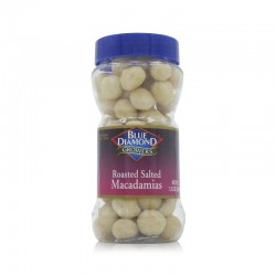 Blue Diamond Roasted Salted Macadamias