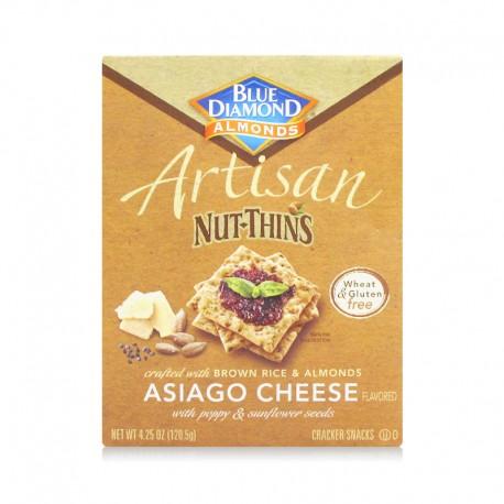 Blue Diamond Asiago Cheese Artisan Nut Thins