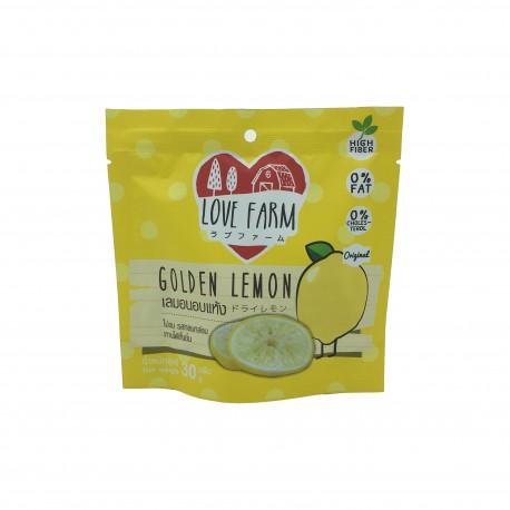 Love Farm Dried Golden Lemon