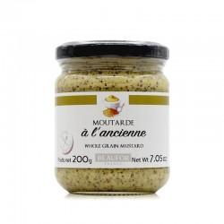 """""""Beaufor"""" Whole Grain Mustard in glass jar"""
