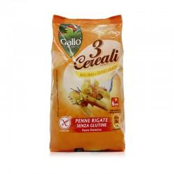"""Riso Gallo"" Italian 3 Grains Penne(Gluten Free|Rice Flour/Corn Flour/Buckwheat Flour)"