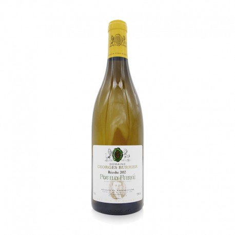 Burgundy Blanc - Pouilly Fuisse 2012 - Domaine Georges Burrier