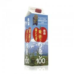 日本青森縣蘋果汁  (1000毫升)