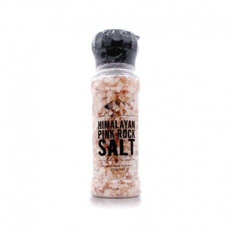 Australia Himalayan Pink Rock Salt with Grinder (200G)