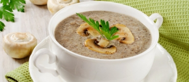 Cream of Mushrooms Soup